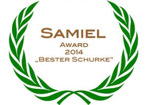"Samiel Award 2014 ""Bester Schurke"""