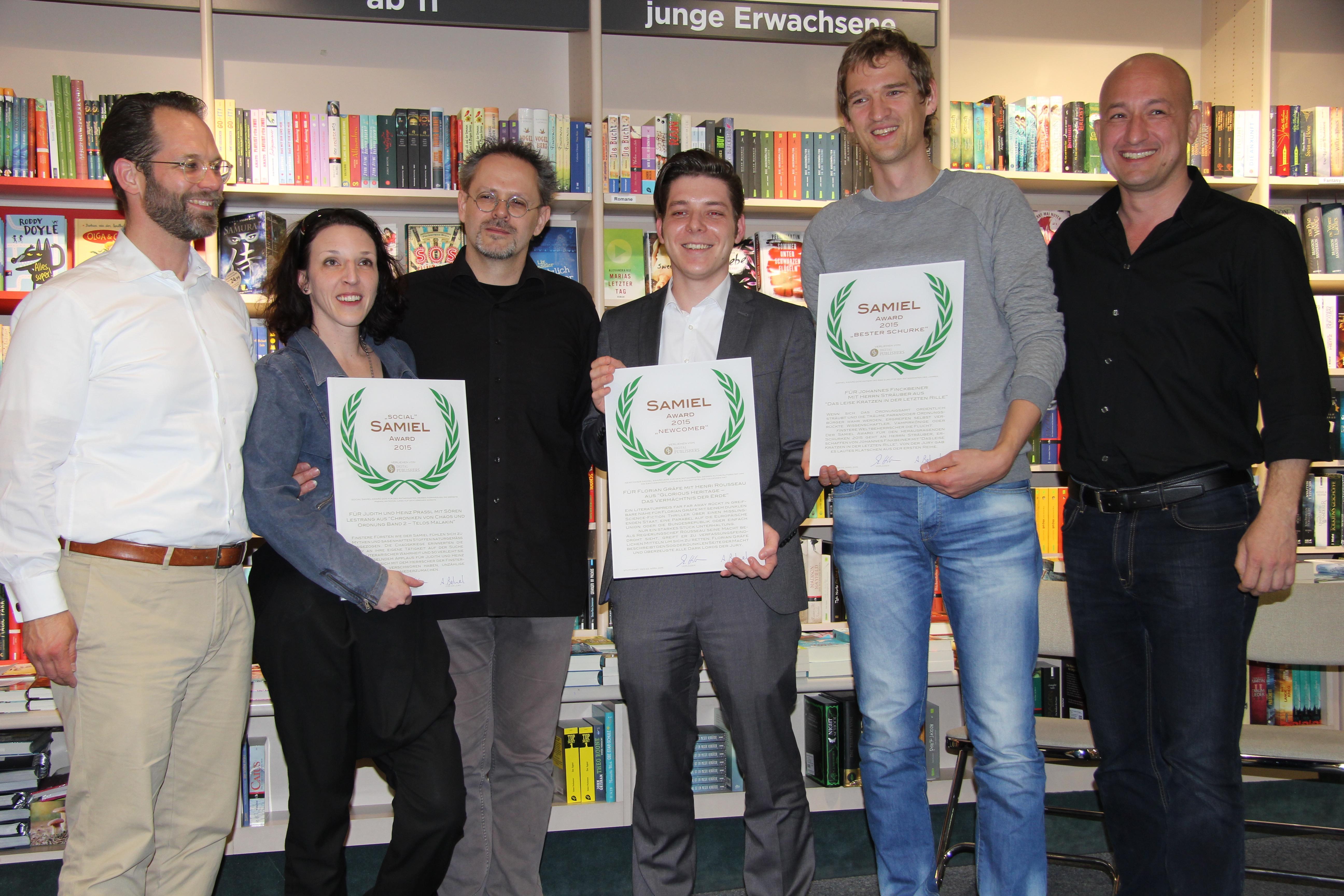 Samiel Award 2015