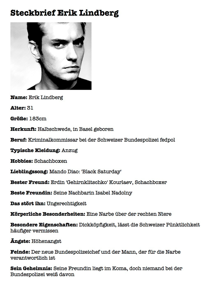 Thomas Kowa – Remexan – Steckbrief Erik Lindberg