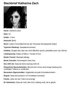 Thomas Kowa – Remexan – Steckbrief Katharina Zach